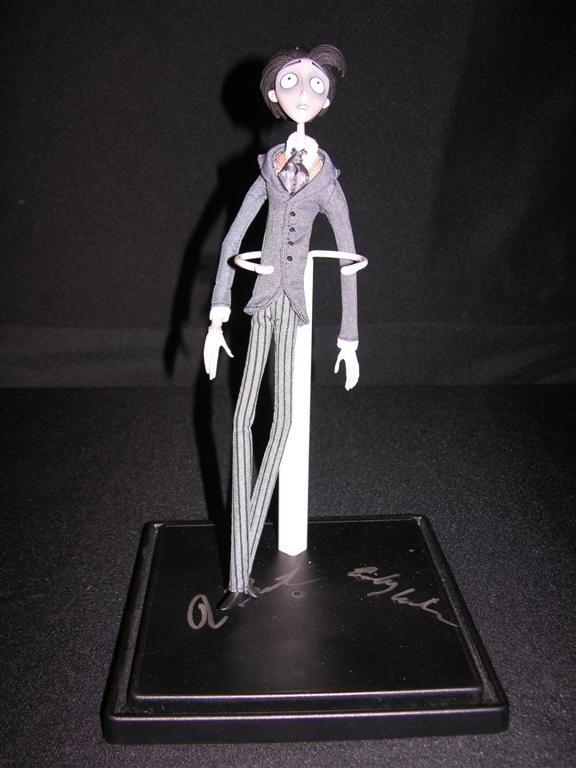 725: Corpse Bride Signed Figure