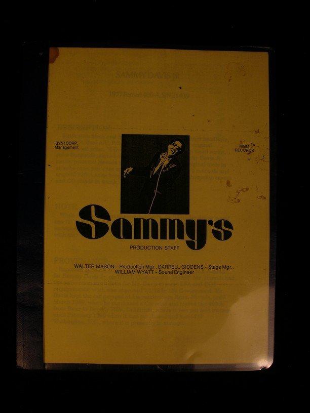 1: Sammy Davis Jr. Car Purchase Agreement