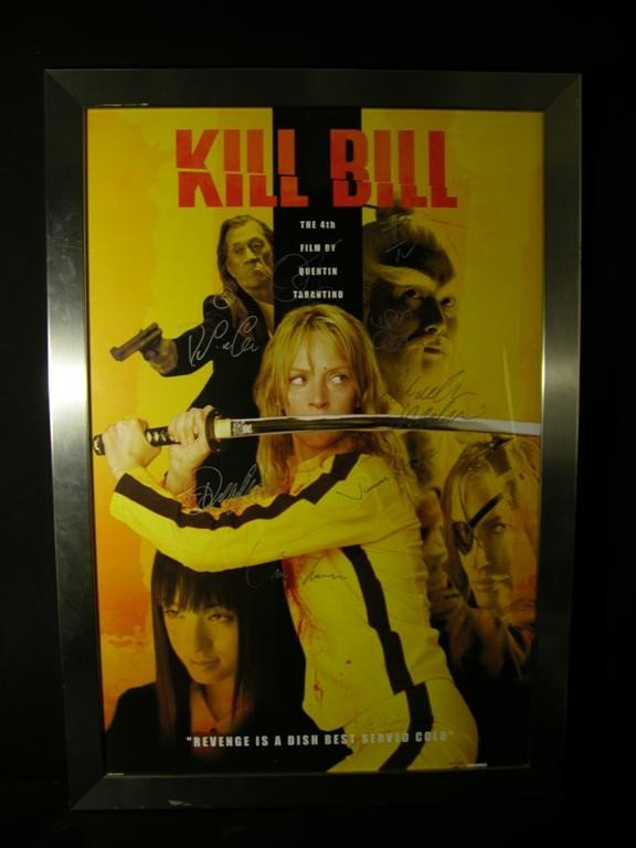 2: Kill Bill (2003) Cast and Crew Autographed Poster
