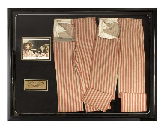 7: Steve McQueen and Dustin Hoffman Screen Worn Prison