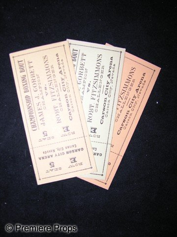 11: Three Prop Tickets from Gentleman Jim