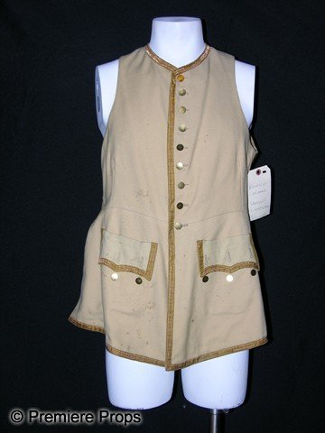 21: Ronald Colman Screen Worn Vest from Clive of India