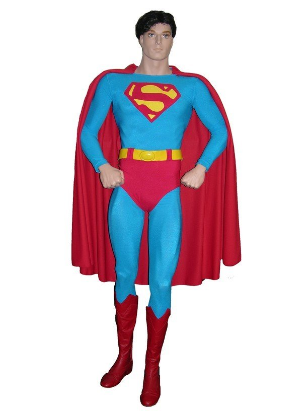 718: Screen Worn Christopher Reeve Superman Costume