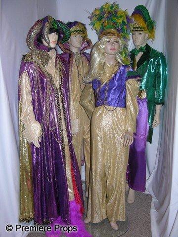 101: Lot of Mardi Gras Costumes