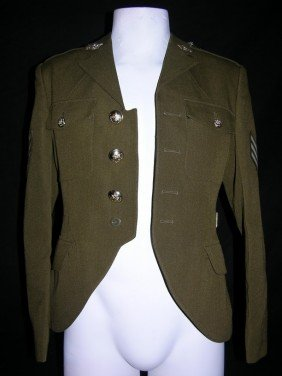 Michael Jackson Worn And Signed Military Jacket