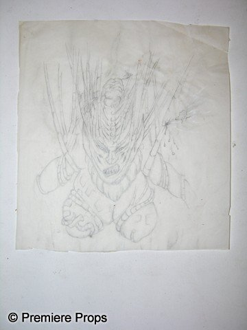 53: Captain Eo Costume Sketch