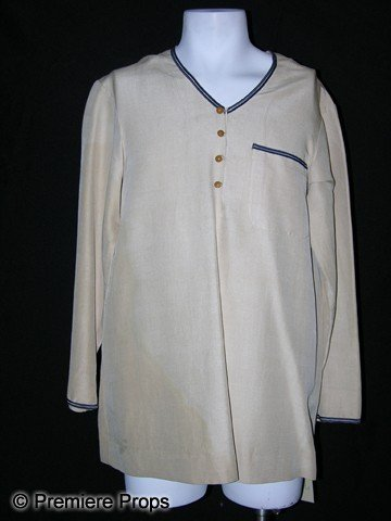 57: H. B. Warner Screen Worn Shirt from The Rains Came