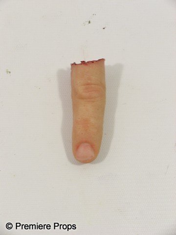 72: Red Frank (Bruce Willis) Screen Used Finger Prop