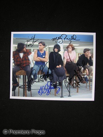 3: The Breakfast Club Signed Cast Photo