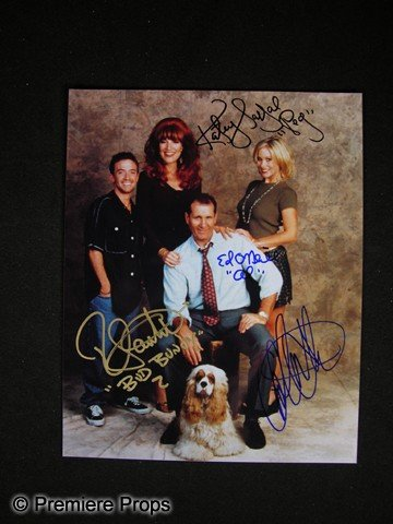 4: Married With Children Signed Cast Photo