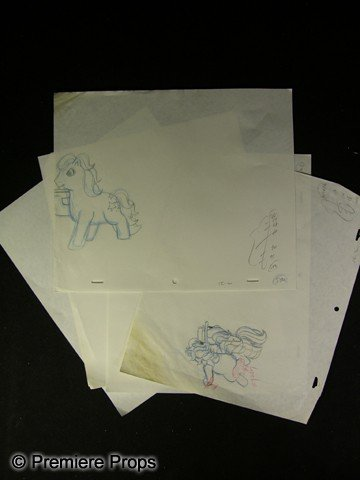 12: My Little Pony Hand Drawn Animation Sketches