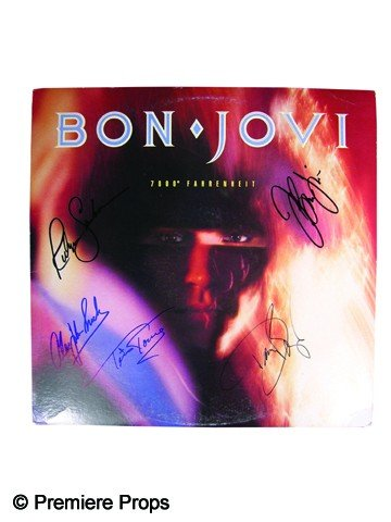 16: Bon Jovi Signed Album