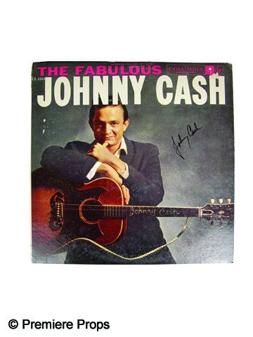 17: Johnny Cash Signed Album