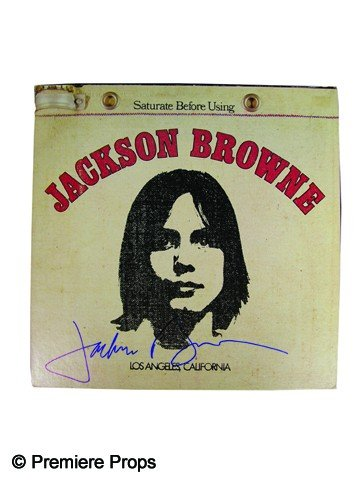 18: Jackson Browne Signed Album