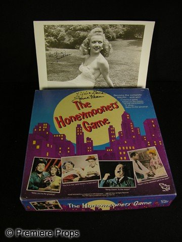 22: Jane Kean Signed Honeymooners Items