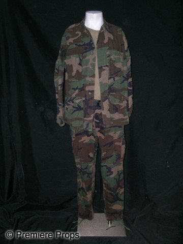 102: Jean Reno Military Fatigues from Godzilla