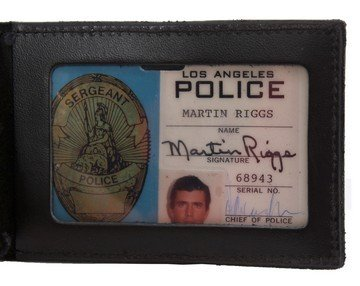 331: Mel Gibson Lethal Weapon 3 LAPD ID and Badge - 2