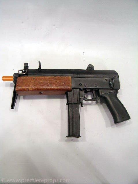 410: Underworld: Evolution AR-15 Machine Gun Prop