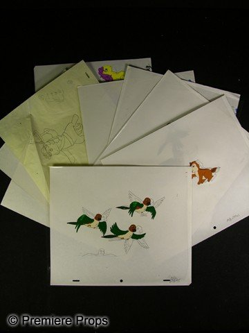 508: My Little Pony Animation Cels and Pencil Sketches