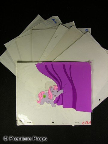 509: My Little Pony Hand  Painted Animation Cels