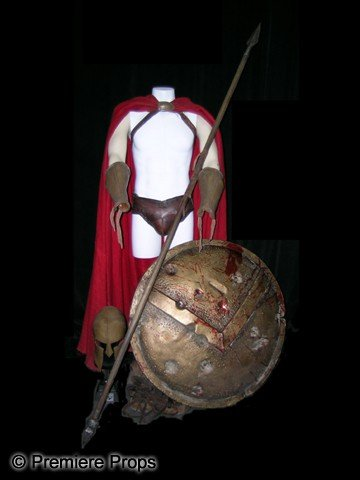 510A: 300 Spartan Solider Movie Costumes
