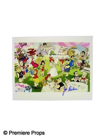 516: The Flintstones Signed Hanna-Barbera Photo