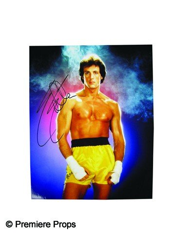 518: Sylvester Stallone Signed Rocky Photo