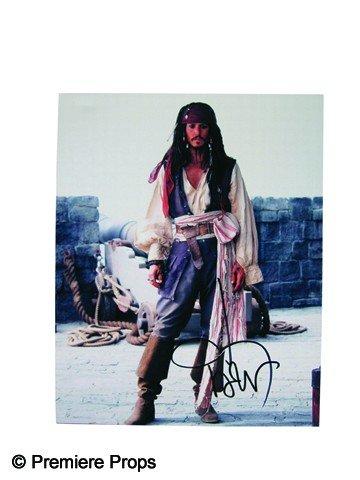 519: Johnny Depp Signed Photo