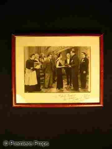 Mary Astor Signed Photo
