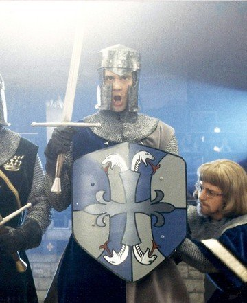 817: Jim Carrey Medieval Helmet from The Cable Guy - 8