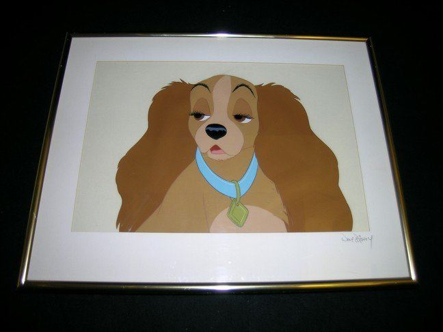 677: Lady and the Tramp Animation Cel