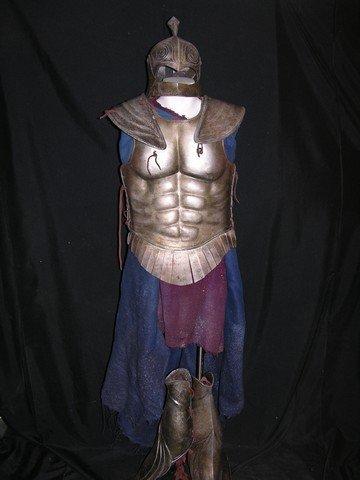 1: Immortals Hoplite Soldier Costume