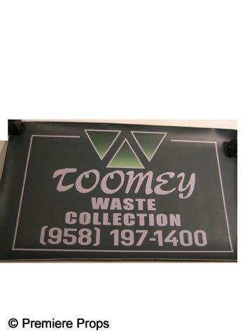 11: Man Of Steel (2013) 'Toomey Waste' Sign