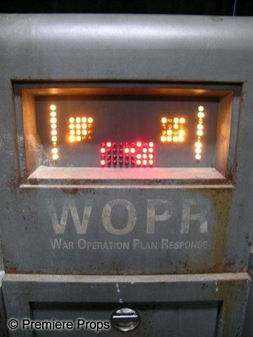 62: War Games Original WOPR Computer - 2