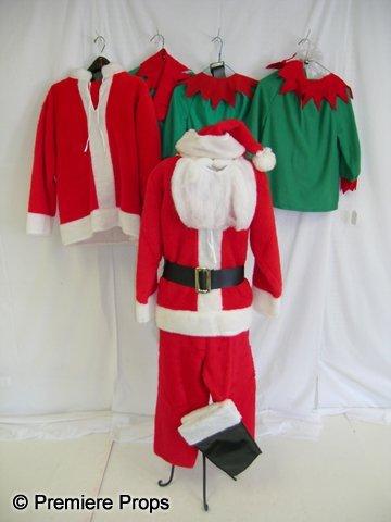 1105: Lot of Children's Christmas/Santa/Elf Costumes