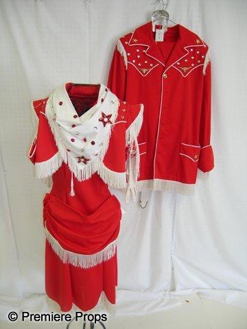 1108: Lot of Ladies Western Costumes