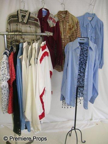 1110: Lot of Asst'd Western Shirts, Items  Lone Ranger