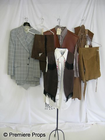 1117: Lot of Assorted Mens Western Costumes