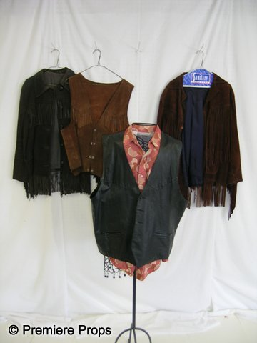 1118: Lot of Leather Western Costumes
