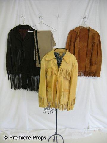 1119: Lot of Leather Buffalo Bill Jackets & Pants