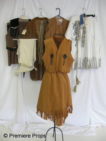 1124: Lot of Western Costumes