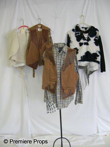 1125: Lot of Men's Western Costumes