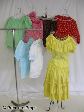 1132: Lot of Western Square Dance Costumes
