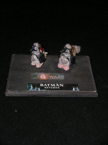 9: 'Batman Returns' Screen Used Miniature Penguins