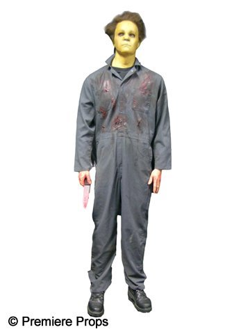 35: Michael Myers Figure with Screen Worn Halloween H2O