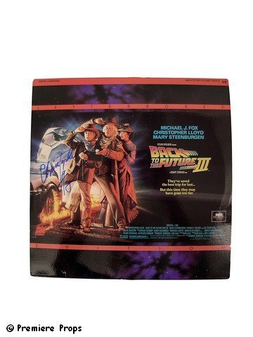 7: Back to the Future III Signed Chris Lloyd