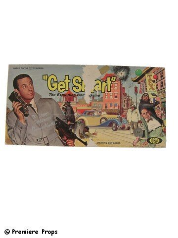508: Get Smart Board Game Signed Bernie Kopell
