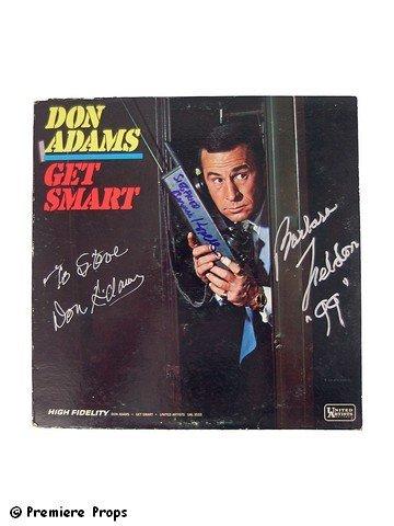 509: Get Smart Soundtrack Album Signed Don Adams/Barbar
