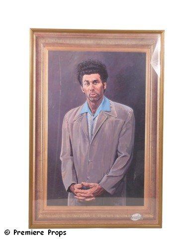 514: Seinfeld Kramer Framed Poster