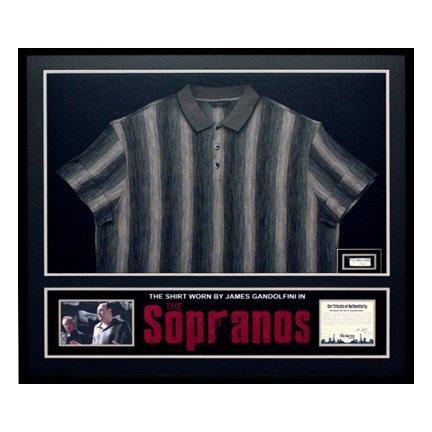 516: Tony Soprano (James Gandolfini) Framed Shirt